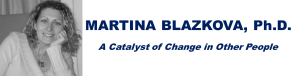 Martina Blazkova – Coaching, Events Organizing Logo
